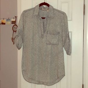 Chelsea & Violet denim patterned shirt XS